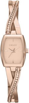 fashion наручные  женские часы DKNY NY2238. Коллекция Crosswalk