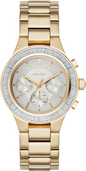 fashion наручные  женские часы DKNY NY2395. Коллекция Chambers