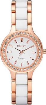 fashion наручные  женские часы DKNY NY8141. Коллекция Crystal collection