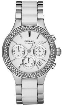 fashion наручные  женские часы DKNY NY8181. Коллекция Crystal collection