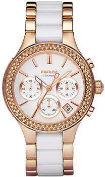 fashion наручные  женские часы DKNY NY8183. Коллекция Crystal collection