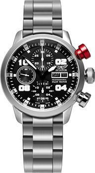 Швейцарские наручные  мужские часы Aviator P.4.06.0.016. Коллекция Professional Automatic