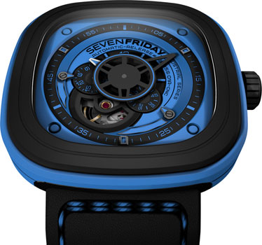 fashion наручные  мужские часы SEVENFRIDAY P1-04. Коллекция Industrial Essence
