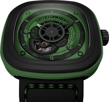 fashion наручные  мужские часы SEVENFRIDAY P1-05. Коллекция Industrial Essence