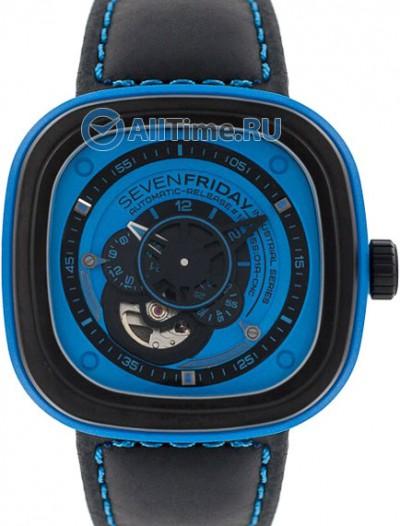 Мужские наручные швейцарские часы в коллекции Industrial Essence SEVENFRIDAY
