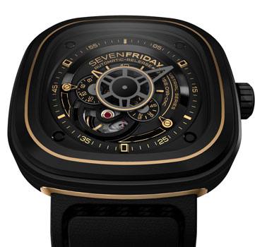 fashion наручные  мужские часы SEVENFRIDAY P2-02. Коллекция Industrial Revolution
