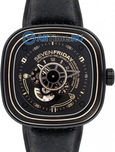 Мужские наручные швейцарские часы в коллекции Industrial Revolution SEVENFRIDAY