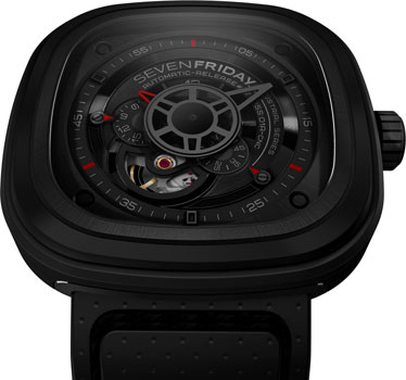 fashion наручные  мужские часы SEVENFRIDAY P3-01. Коллекция Industrial Engines