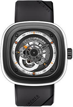 fashion наручные  мужские часы SEVENFRIDAY P3-03. Коллекция Industrial Engines