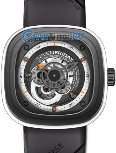 Мужские наручные швейцарские часы в коллекции Industrial Engines SEVENFRIDAY