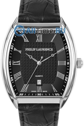 Мужские наручные швейцарские часы в коллекции Barrel Philip Laurence