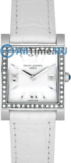 Женские наручные швейцарские часы в коллекции Square Philip Laurence