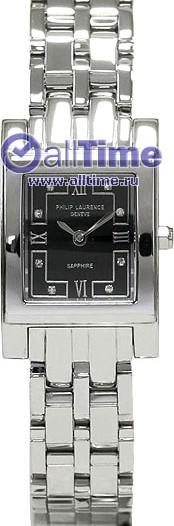 Женские наручные швейцарские часы в коллекции Rectangular Philip Laurence