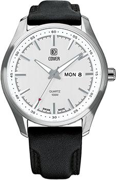 Швейцарские наручные  мужские часы Cover PL44027.06. Коллекция Gents