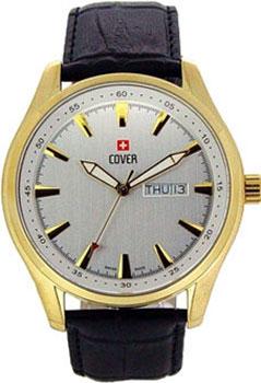 Швейцарские наручные  мужские часы Cover PL44027.08. Коллекция Gents