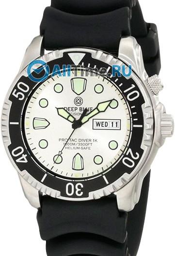Мужские наручные часы в коллекции Protac Diver Deep Blue