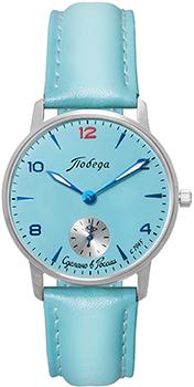 Российские наручные  женские часы Pobeda PW-03-62-10-0N21. Коллекция Весна