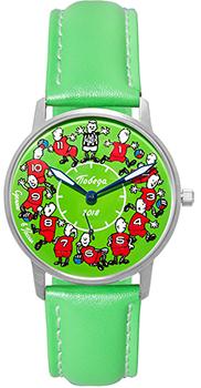 Российские наручные  женские часы Pobeda PW-03-62-10-0N23. Коллекция Спорт