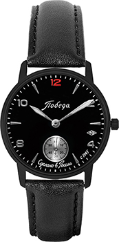 Российские наручные  мужские часы Pobeda PW-03-62-10-0N35. Коллекция Антрацит