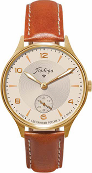 Российские наручные  мужские часы Pobeda PW-04-62-10-0053. Коллекция Классик