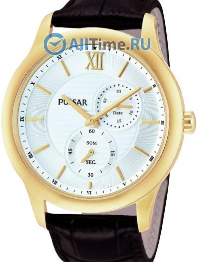Мужские наручные часы в коллекции Leather Pulsar