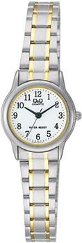 Японские наручные  женские часы Q&Q Q589J404. Коллекция Standard