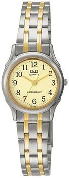 Японские наручные  женские часы Q&Q Q591J403. Коллекция Standard