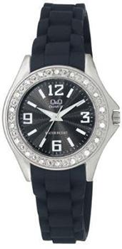Японские наручные  женские часы Q&Q Q661J305Y. Коллекция Sports