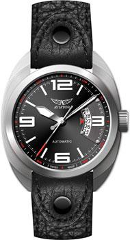 Швейцарские наручные  мужские часы Aviator R.3.08.0.090.4. Коллекция Propeller