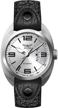 Швейцарские наручные  мужские часы Aviator R.3.08.0.091.4. Коллекция Propeller