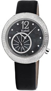 Швейцарские наручные  женские часы Korloff R40.599.A8566