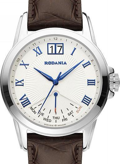 Мужские наручные швейцарские часы в коллекции Adage Rodania