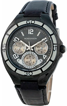 Наручные  женские часы Romanson RL0357UUB(BK). Коллекция Trofish