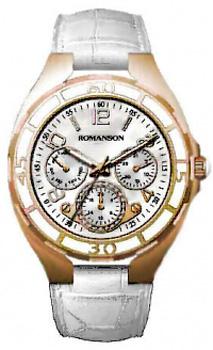 Наручные  женские часы Romanson RL0357UUG(WH). Коллекция Giselle