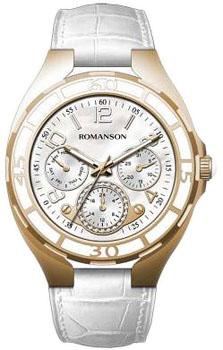 Наручные  женские часы Romanson RL0357UUR(WH). Коллекция Trofish