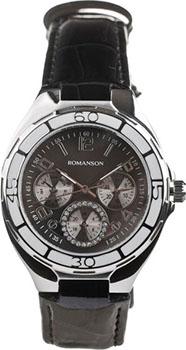 Наручные  женские часы Romanson RL0357UUW(BK). Коллекция Trofish