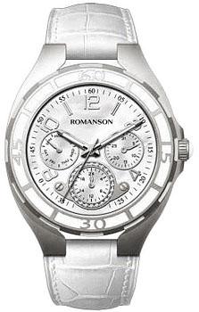Наручные  женские часы Romanson RL0357UUW(WH). Коллекция Trofish
