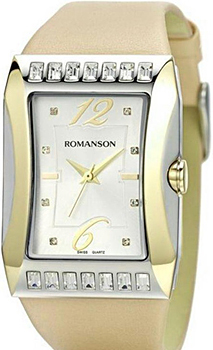 Наручные  женские часы Romanson RL0358QLC(WH). Коллекция Lady Jewelry