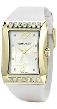 Наручные  женские часы Romanson RL0358QLG(WH). Коллекция Lady Jewelry