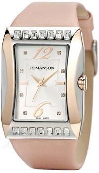 Наручные  женские часы Romanson RL0358QLJ(WH). Коллекция Lady Jewelry