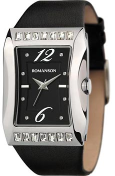 Наручные  женские часы Romanson RL0358QLW(BK). Коллекция Lady Jewelry