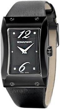 Наручные  женские часы Romanson RL0359LB(BK). Коллекция Giselle