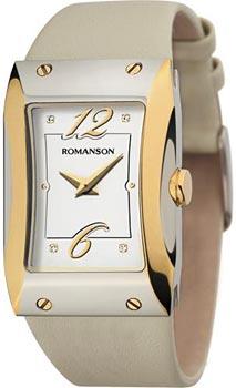 Наручные  женские часы Romanson RL0359LJ(WH). Коллекция Giselle