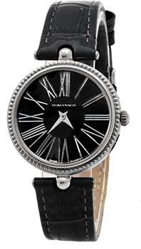Наручные  женские часы Romanson RL0362LW(BK). Коллекция Trofish
