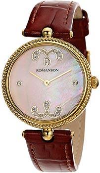 Наручные  женские часы Romanson RL0363LG(PINK). Коллекция Trofish