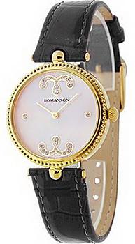 Наручные  женские часы Romanson RL0363LJ(PINK). Коллекция Giselle