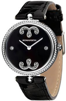 Наручные  женские часы Romanson RL0363LW(BK). Коллекция Giselle