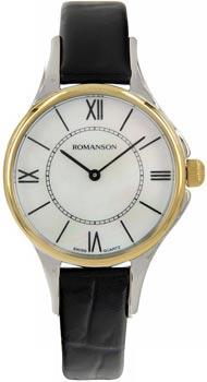 Наручные  женские часы Romanson RL0364LC(WH). Коллекция Giselle
