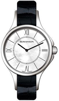 Наручные  женские часы Romanson RL0364LW(WH). Коллекция Adel