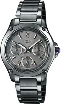 Японские наручные  женские часы Casio SHE-3502BD-8A. Коллекция Sheen